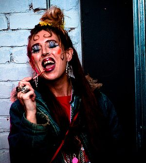 Louise as the Chav Girl