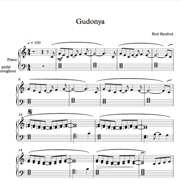 Gudonya Sheet Image